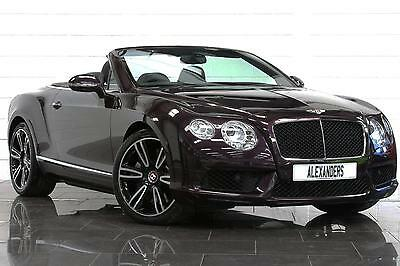2013 Bentley Continental GTC 4.0 V8 Mulliner Auto Petrol purple Automatic