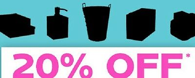 The Container Store 20% Entire off-coupon(Include most ELFA)