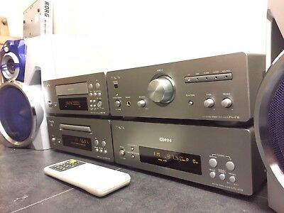 Denon D-F10 Hi Fi Stereo Separates Amplifier Radio Tuner CD Tape Cassette