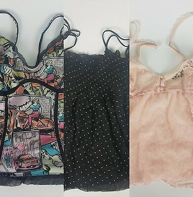 LOT 3 Victoria's Secret, Intimissimi Tops Lingerie