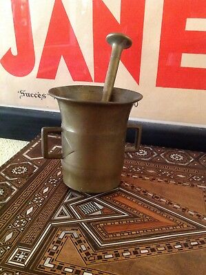 Antique 18th Century Morter and Pestle Drug Store Apothecary