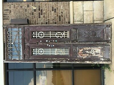 "Vintage Set Of Doors From Egypt - About 39"" X 116""  (As A Set Measurement)"
