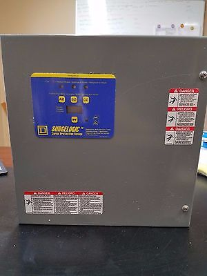 NEW Square-D TVS4EMA12A1-Transient-Voltage-Surge-Supressor-120kA-3-Phase 480v