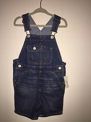 Gap Kids Toddler Boy Overall Shorts Size 2T NWT