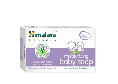 Moisturizing Baby Soap by Himalaya For Soft & Moisturized Skin Parraben Free 75g