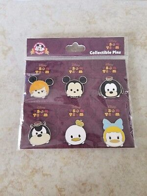 Disney Trading Pins New Lot of 6 Hollywood Tower of Terror Tsum Tsum Mickey Pete