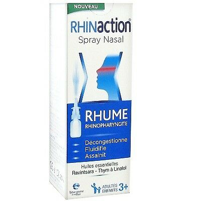 RHINACTION Spray Nasal Rhume Rhinopharyngite - 20 ml