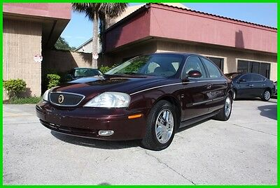 2001 Mercury Sable LS FULLY LOADED CARFAX FLORIDA NO RESERVE! 2001 MERCURY SABLE LS FULLY LOADED LOW MILES CARFAX FLORIDA NO RESERVE!