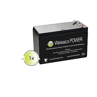 APC Back-UPS Pro 700G (BR700G) 9 Amp NEW Compatible Battery Replacement Kit