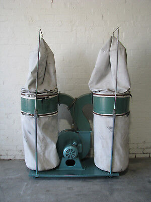 Dual Bag Dust Extractor Collector