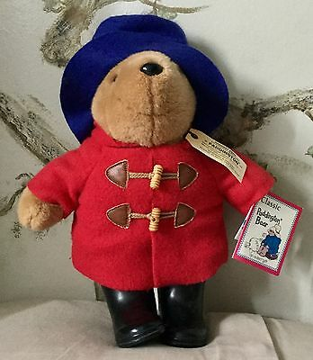 Vintage Paddington Bear plush - Darkest Peru to London series - Black Boots