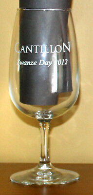 Cantillon Zwanze Day Chicago West Lakeview Liquors 2012 Tasting Glass