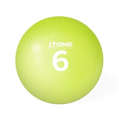 (6-Pound) - Tone Fitness Soft Weighted Toning Ball. Shipping Included