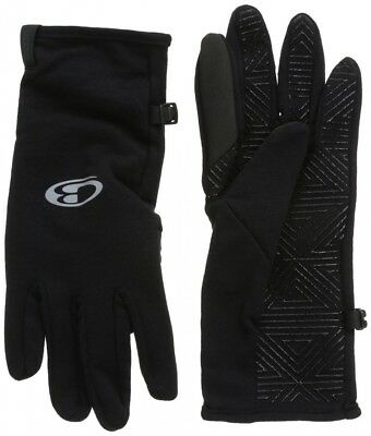 (Small, Black) - Icebreaker Quantum Gloves. Huge Saving