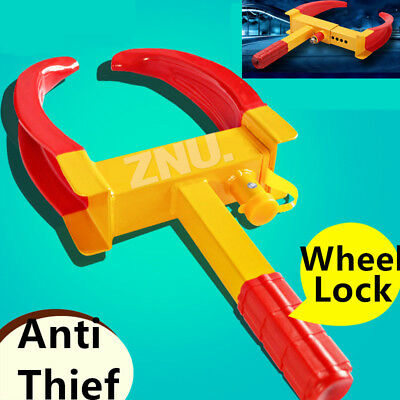 """6""""  to 11"""" Car Vehicle Wheel Lock Clamp Anti-Theft Security Heavy Duty Safety AU"""