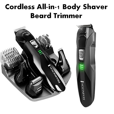 Hair Clippers Cordless Body Beard Trimmer groomer Remington Home Grooming Set