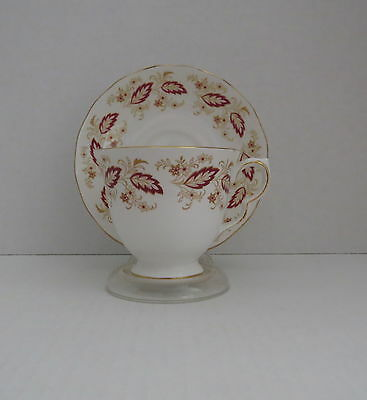 QUEEN ANNE China Tea Cup with Flowers