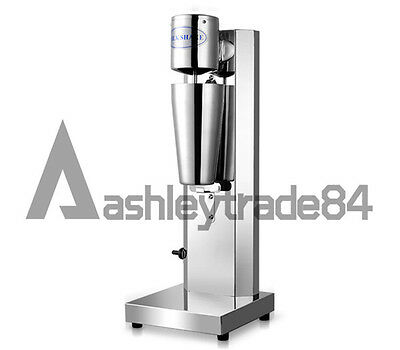 Commercial/Home Electric Soft Ice Cream Mixer Milkshake Cyclone Machine 220V