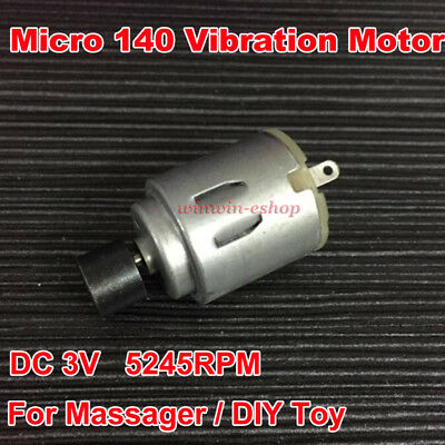 Micro140 Vibration Motor DC 3V 5245RPM  Vibrator Motor For Massager Seat DIY Toy