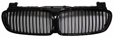 Front Kidney Grille Glossy Black for BMW E65 E66 LCI 2006-2008 7-Series 750i
