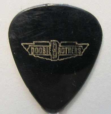 DOOBIE BROTHERS Tom Johnston Guitar Pick black