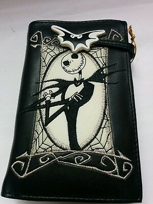 The Nightmare Before Christmas Jack Skellington forth-fold Wallet Purse