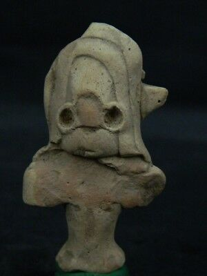Ancient Teracotta Mother Goddess Head Indus Valley 2000 BC NO RESERVE  #TR7520