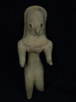 Ancient Teracotta Mother Goddess Indus Valley 2000 BC NO RESERVE  #TR8008