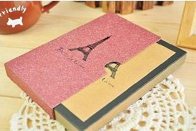4x Vintage notebook journal diary memory hard cover Travel size new 256 pages
