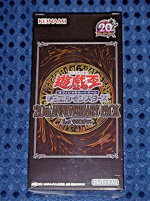 NEW YuGiOh OCG Duel Monsters 20th Anniversary Pack 1st Wave BOX JAPAN Limited FS