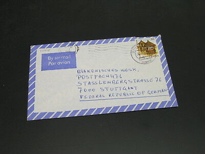 Zambia 1985 airmail cover to Germany *22748