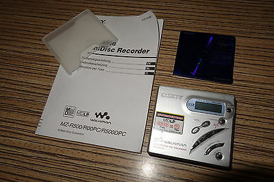 Sony MD MZ-R500 Power  Discman Minidisc Walkman (068)