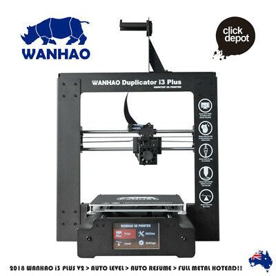 "WANHAO DUPLICATOR i3 ""PLUS"" 3D PRINTER + FREE FILAMENT INCLUDED"