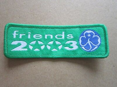 Friends 2003 Girl Guides Cloth Patch Badge (L4K)