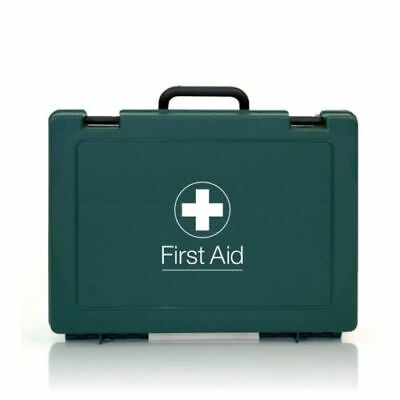 1-10 Person Premium HSE Compliant First Aid Workplace Kit, CE Marked, Long Exp.
