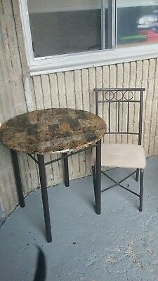 brown dinette table