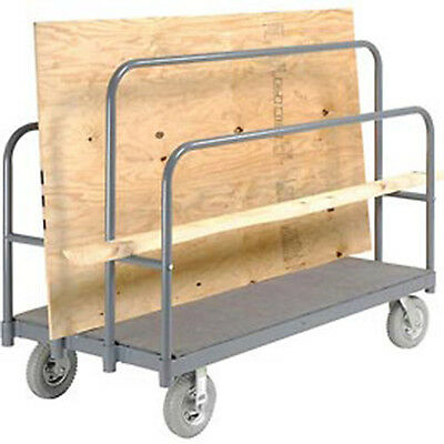 """Panel, Sheet & Lumber Truck with Carpeted Deck, 1200 Lb. Capacity, 60""""L x 30""""W"""