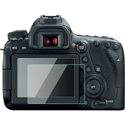 2 Pack Canon EOS 6D Mark II Screen Protector Film Full Cover 9H Tempered Glass