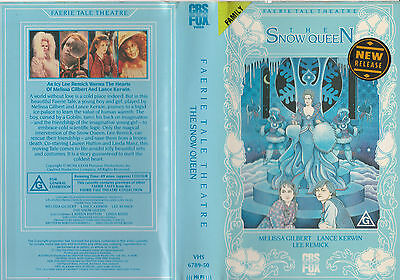 The Snow Queen Faerie Tale Theatre Melissa Gilbert Lee Remick Rare Pal Vhs Video
