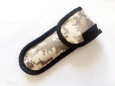 "Nylon Pouch Sheath Bag For Folding Knife Up to 5.51"" closed length Case Fishing"
