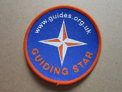 Guiding Star Girl Guides Cloth Patch Badge (L4K)