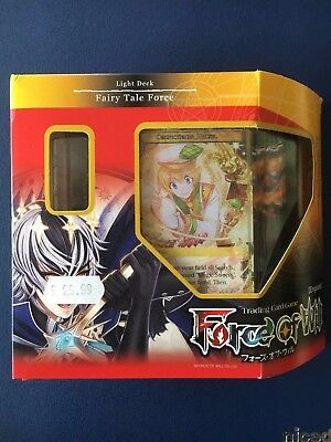 Force of Will TCG - Fairy Tale Force - Light Deck - Decks - BNIB