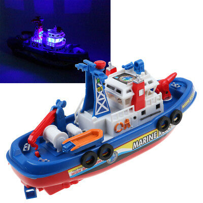 Baby Kids Fireboat Floating Swim Water Bath Time/Pool/Beach Toy Xmas Gift AU