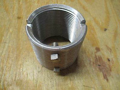 "Pelco SE-0346 Notched Coupling, 1-1/2"" NPS x 2"", Alum"