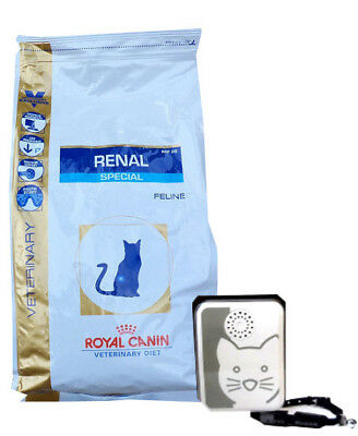 4kg Royal Canin Renal Special RSF 26 Veterinary Diet + Tchibo Katzen-Türsignal