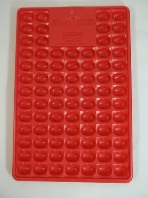 Jello Jigglers Jelly Bean Mold Red