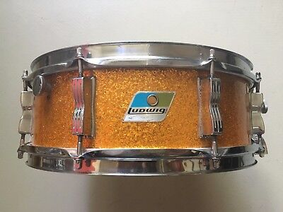"""Vintage 1971 Ludwig 5"""" x 14"""" Model 900 Super Classic All Maple Snare Drum RARE!!"""