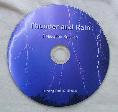 Thunder & Rain Relaxation Therapy CD