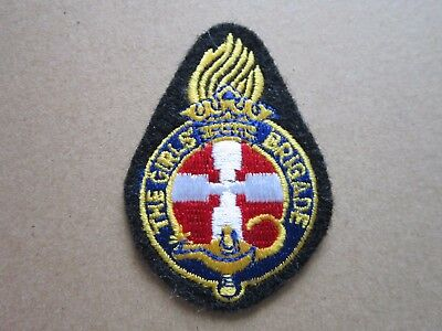 The Girls' Brigade Girl Guides Cloth Patch Badge (L4K)