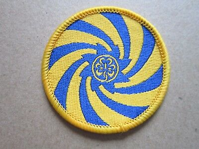 Girl Guides (50mm) Cloth Patch Badge (L4K)